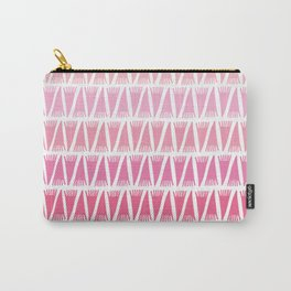 Tee Pee Pink Gradient Carry-All Pouch