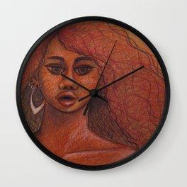 Cheetah Girl Wall Clock