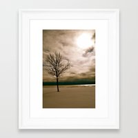 narnia Framed Art Prints featuring Narnia by Meghan Kane