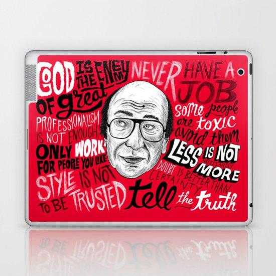 Advice from Milton Laptop & iPad Skin