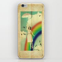 dorothy iPhone & iPod Skins featuring Dorothy by Robin Curtiss