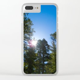 Mount Baden Clear iPhone Case