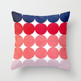 Circulos 39 Throw Pillow