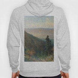 Hudson River Valley From The Catskill Mountain House 1872 By Thomas Hill | Reproduction Hoody