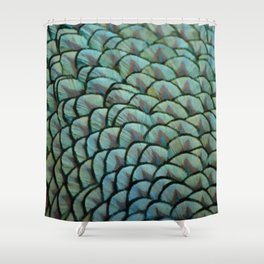 Beautiful Elegant Peacock Feathers Shower Curtain