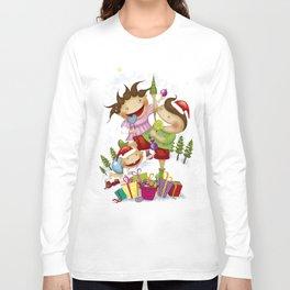 """Noviy god"" Long Sleeve T-shirt"