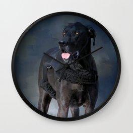 Great Dane - A Working Dog Wall Clock
