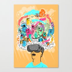 Adventures in the Oculus Rift Canvas Print