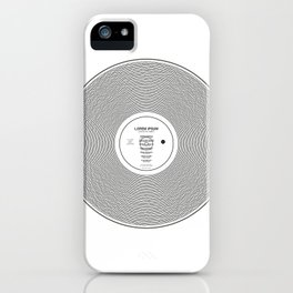 LP-IPSUM iPhone Case