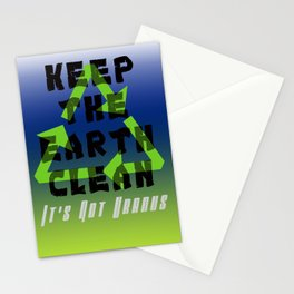 Save Our Planet Stationery Cards