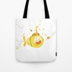 Baby's yellow submarine Tote Bag