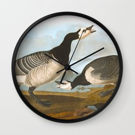 Barnacle Goose Wall Clock