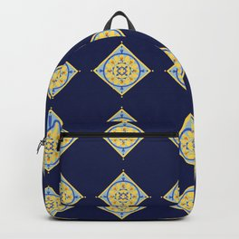 Sicilian Flowers Backpack