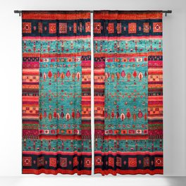 Anthropologie Ortiental Traditional Moroccan Style Artwork Blackout Curtain