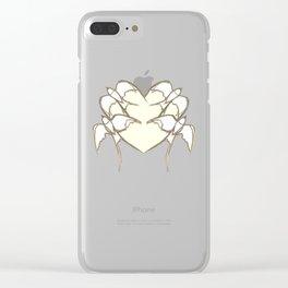 s1 heart Clear iPhone Case