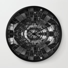 Derelict Airship of Repetition Wall Clock