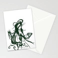 Elf nude hair  Stationery Cards