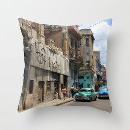 Havana 9 Throw Pillow