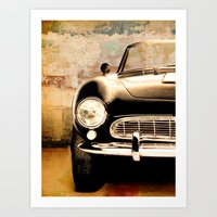 bmw Art Prints featuring bmw by Fernando Vieira