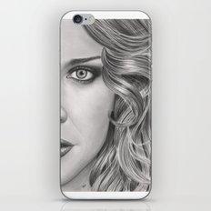 Half Portrait iPhone & iPod Skin
