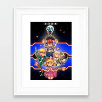 earthbound Framed Art Prints featuring Welcome to Earthbound by kichisu