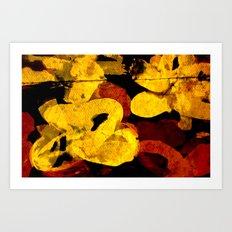 composition 8 Art Print