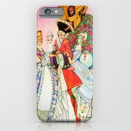 Kay Nielsen - Twelve Princesses And Cheating Prince Miraflow iPhone Case