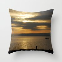 photographer Throw Pillows featuring Photographer by itsthezoe