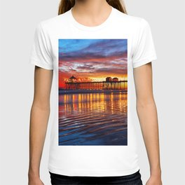 Huntington Beach Sunset   12/2/13 T-shirt