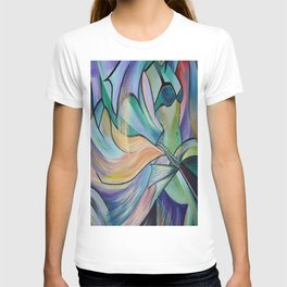 Middle Eastern Belly Dance With Pastel Veils T-shirt