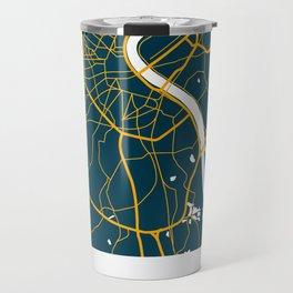 Bordeaux France Map Travel Mug