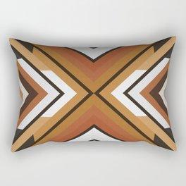 Geometric Art with Bands 09 Rectangular Pillow