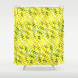 Lemon Slices. Shower Curtain