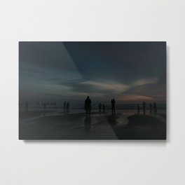 Ghost Beach Metal Print