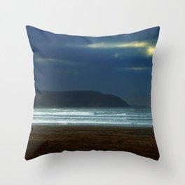 At the dawn Throw Pillow