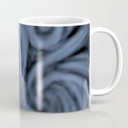 dark blue swirl Coffee Mug