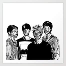 Kodaline Art Print