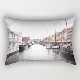 Colorful View Rectangular Pillow