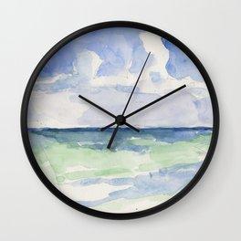 Ocean, Tulum, Mexico Wall Clock