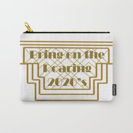 New Year Roaring 2020's Art Deco Carry-All Pouch