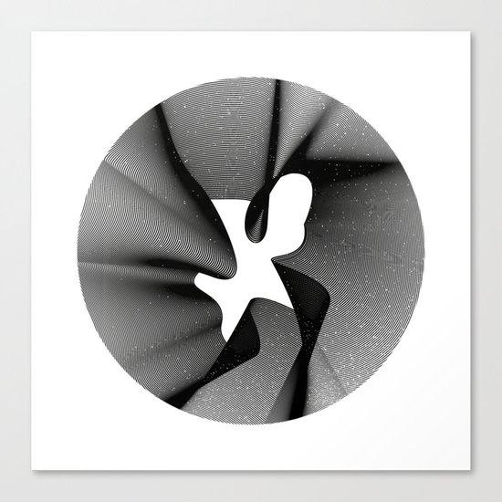 minimal & geometric no.5 Canvas Print