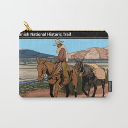 Vintage Poster - Old Spanish National Historic Trail (2018) Carry-All Pouch