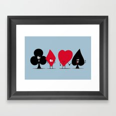 Pair of Aces Framed Art Print