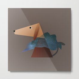 Animaligon - Dog Metal Print