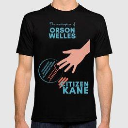 Citizen Kane, minimal movie poster, Orson Welles film, hollywood masterpiece, classic cinema T-shirt