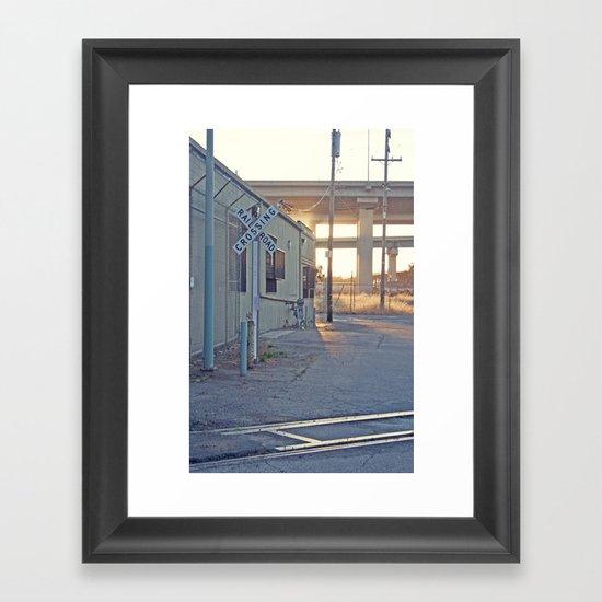 Industrial Porn Framed Art Print