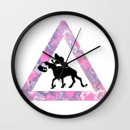 Fabolous moose Wall Clock