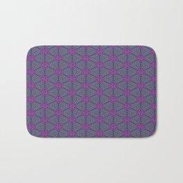 Purple Beads Bath Mat