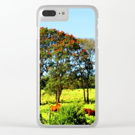 Silence of Nature Clear iPhone Case