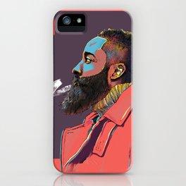 Jazzy Harden iPhone Case